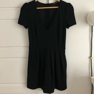 Zara Black Shorts Jumper